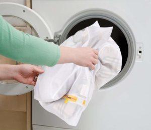 Toplader Waschmaschine Test: Wäschesäcke für die Trommel