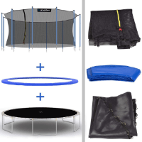 Kinetic Sports Trampolin mit Netz TPLH16   im Test