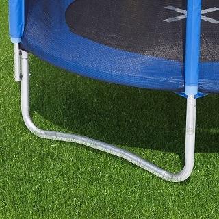 Das Uni-Jump Gartentrampolin ist sehr stabil im Test