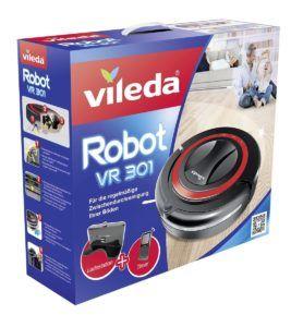 Verpackung von Vileda Saugroboter VR 301 im Test