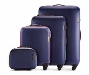 WITTCHEN Koffer-set mit Kosmetiktasche