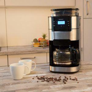 Alle Zahlen und Daten aus einem Kaffeemaschine mit Mahlwerk Test