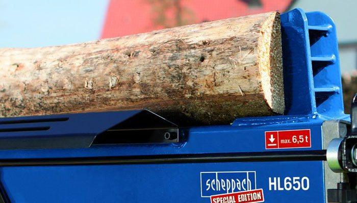 Holzspalter liegend im Test auf ExpertenTesten.de