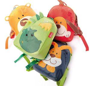sigikid, Mädchen und Jungen, Mini Rucksack, Motiv Drache