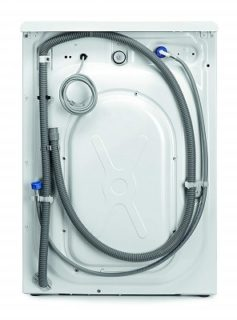 AEG L6FBA48 Waschmaschine hinter im Test