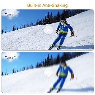 Die APEMAN Action Kamera mit Anti-Shaking im Test