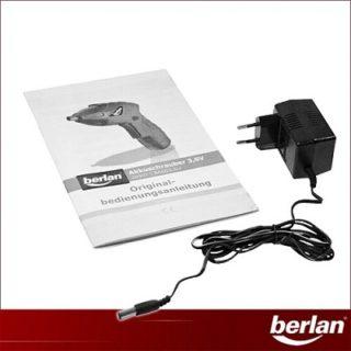 Berlan - 3,6 V Li-Ion Akkuschrauber mit Anleitung im Test