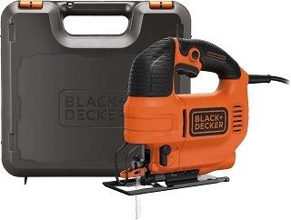 Die Black+Decker KS701PEK Stichsäge wird mit einem Koffer geliefert Test