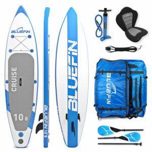 Bluefin CRUISE SUP Board Test