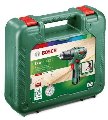 Bosch Akkuschrauber EasyDrill 12-2 Verpackung im Test
