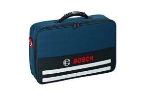 Bosch Professional Akkuschrauber GSR hat einen sehr schönen Tasche dabei im Test