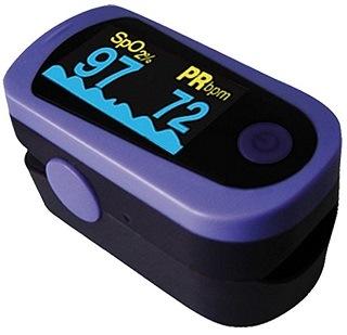Der MD300C23 Pulsoximeter ist sehr klein und kompakt Test
