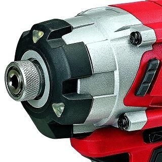 Der TE-CI 18 Li Schlagschrauber ist sehr leicht und kompakt Test