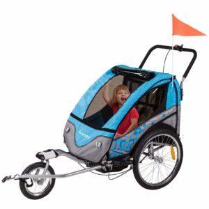Kinderwagen Alternative - der Froggy Fahrradanhänger und Lastenfahrräder im Test