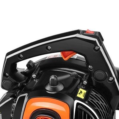 Griff von FUXTEC Benzin Laubsauger FX-LBS126P im Test