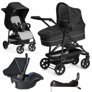 Hauck 10-teiliges Kinderwagen Set 3in1 im Test