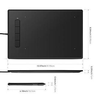 Das Intey NY-BG14 Grafiktablett ist sehr klein und kompakt Test