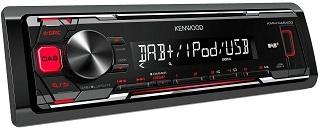 Das DAB Autoradio mit iPod-Direktsteuerung KMM-DAB403 von Kenwood im Test und Vergleich