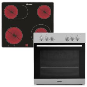 Welche Kochfelder von Elektroofen gibt es in einem Test?