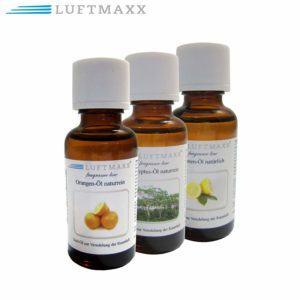 3er Set Duftöle von LUFTMAXX im Wasserstaubsauger Test