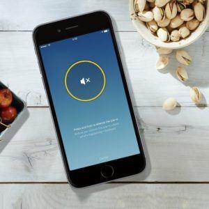 Smartphone App für den Nest Protect im Rauchmelder Test