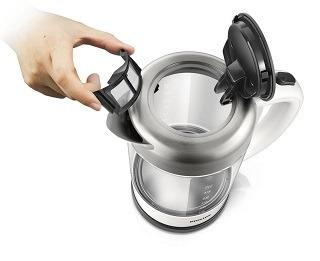 Der Glas Wasserkocher mit Kalkfilter von Philips HD9340 00 im Test und Vergleich bei Expertentesten