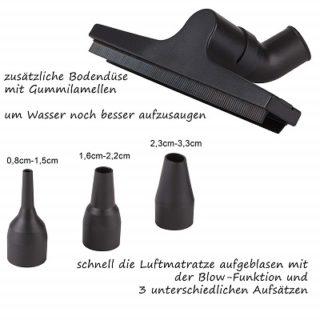 TZS First Austria - 1400W Zubehör 2 im Test