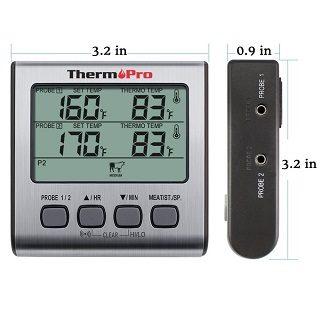 Der Grillthermometer mit LC-Display von ThermoPro TP17 im Test und Vergleich bei Expertentesten