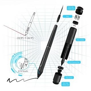 Der Stift ist sehr einfach zu bedienen im Test
