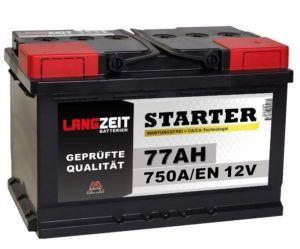 Autobatterie der Firma Langzeit