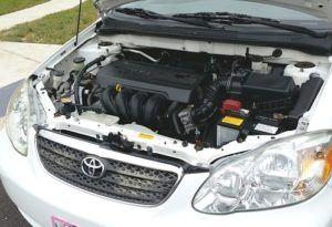 Toyota Motorraum