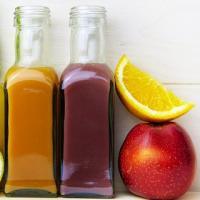 Haarkur aus Apfel und Zitrone