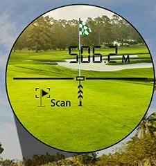 Laserentfernungsmesser Golfen Fadenkreuz