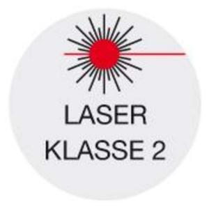 Illustration für Laser der Klasse 2
