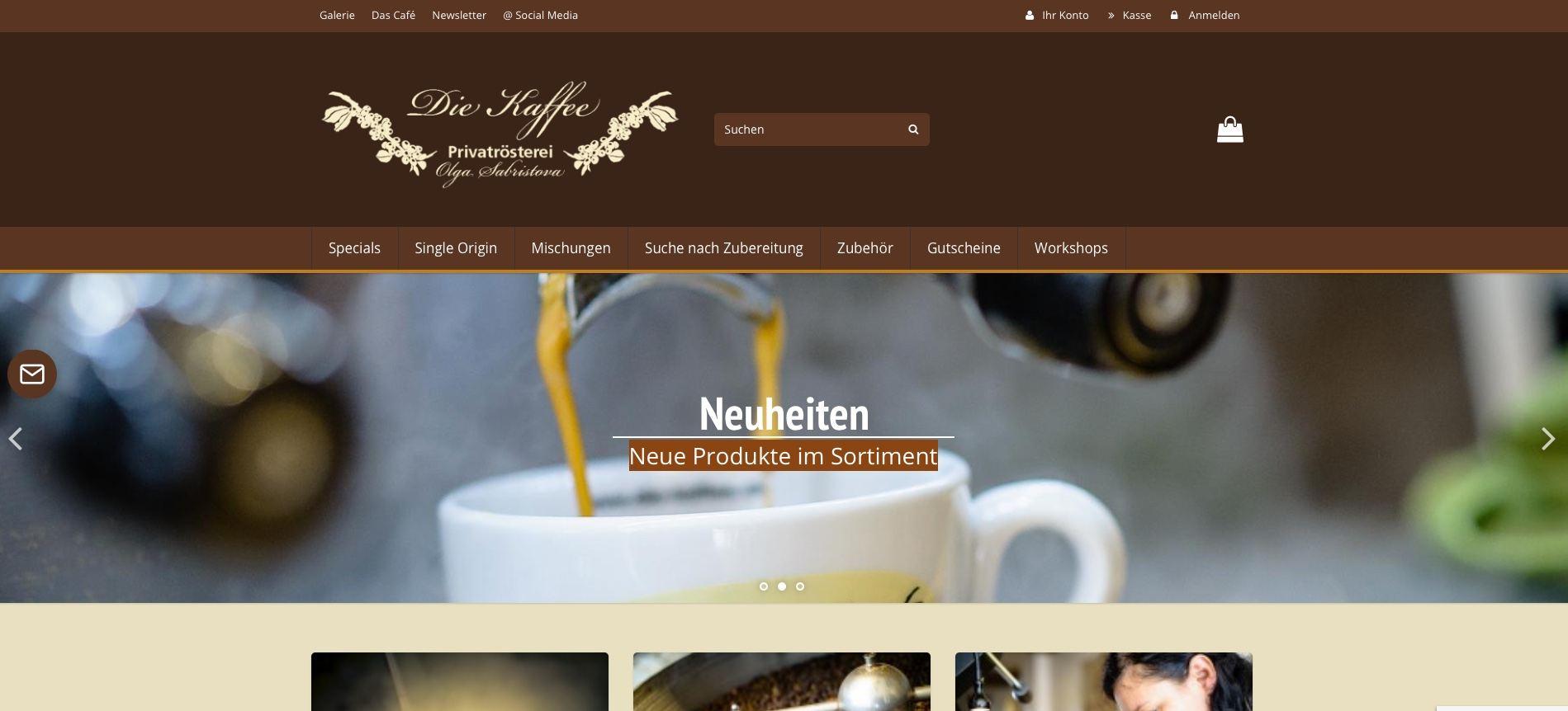 die-kaffee.de gehört zu den Top 50 Online Shops auf ExpertenTesten.de