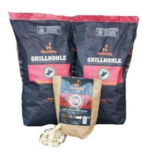 BlackSellig 20 Kg Steakhousekohle Holzkohle Im Tisch Gasgrill Test E1542146858878