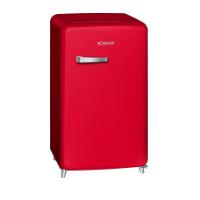 Bomann Kühlschrank mit Gefrierfach KSR 350 Retro im Test