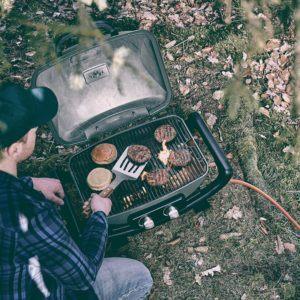 Burnhard Tragbarer 2 Brenner Tisch Gasgrill Camping Test