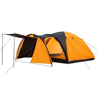 DAs 1018_2 3 Personen Zelt hat sich sehr gut im Test gezeigt