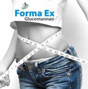 Bauchfett loswerden mit Forma Ex 90 Kapseln Glucomannan Appetitzügler im Test