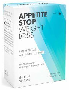 Glucomannan (Konjak-Wurzel) - 1 Gramm pro Kapsel – Natürlich Abnehmen ohne Hunger durch Appetitzügler (60 Tabletten für drei Wochen)