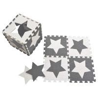 Happykiddoos Puzzlespielmatte 10 Foam Matte Spielmatte Sterne aus Schaumstoff Test