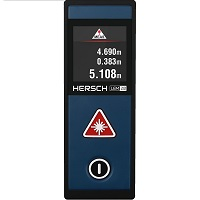 Hersch LEM 20 Laser Entfernungsmesser Test