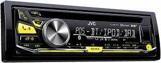 Das DAB Autoradio mit Akku-Ladefunktion KD-DB97BT von JVC im Test und Vergleich