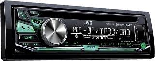 Das DAB Autoradio mit Bluetooth-Freisprecheinrichtung KD-DB97BT von JVC im Test und Vergleich