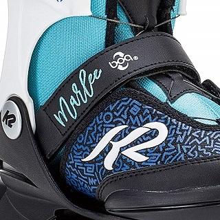Durch die Kombination aus K2 Original SoftBoot und Boa Verschlusssystem lassen sich die Skates mit einem Dreh dem Fuß anpassen Test