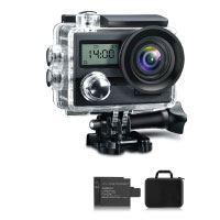 KAMTRON Action Cam 4K Wasserdicht Aktion Kamera - 20MP Ultra Full HD WiFi Unterwasserkamera Helmkamera Test