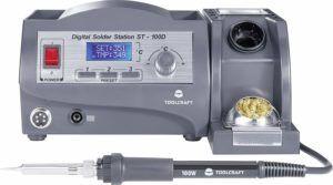 Lötstation Digital 100 W TOOLCRAFT Test