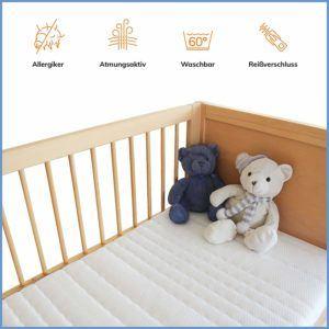16 Modelle 1 Klarer Testsieger Kindermatratzen Test 062019