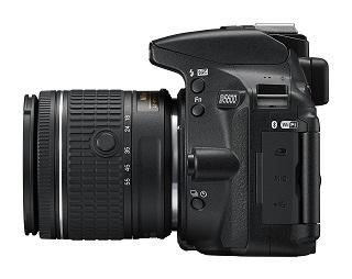 Die D5600 Spiegelreflexkamera hat ein tolles Design Test